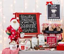 this christmas host a chocolate themed movie night for family