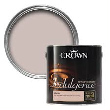 dulux neutrals soft truffle matt emulsion paint 2 5l truffle crown indulgence mink matt emulsion paint 2 5l taupe bedroombedroom