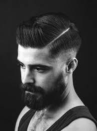 hard part hair men 40 hard part haircuts for men sharp straight line style