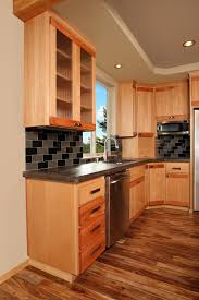 Kitchen Glass Door Cabinet Affordable Custom Cabinets Showroom
