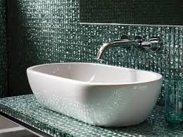 mosaic tiled bathrooms ideas 27 cool ideas of glasstiled walls bathroom