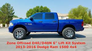 2010 dodge ram 1500 lift kit zone offroad d40 d40n d41 d41n 6 lift kit system 2013 2016