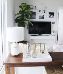 How Tall Should A Coffee Table Be by Small Space Living Projectprettyinpink U2014 The Habitat Collective