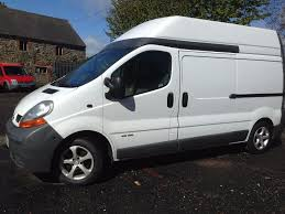 renault van renault trafic traffic primastar vivaro lwb high roof perfect