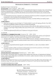 Resume Buzzwords For Management resume words for manage continuity risk resume exle 1 continuity
