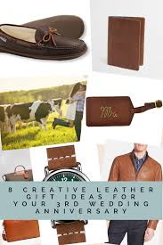 3rd wedding anniversary gifts for 8 creative leather gift ideas for your 3rd wedding anniversary