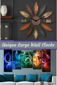 Unique Wall Art Decor Charming Timeless And Cute Unique Wall Clocks Home Wall Art Decor
