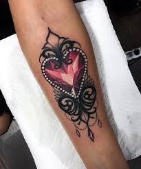 jewel heart tattoo danielhuscroft com