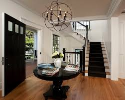 Orb Chandeliers Iron Orb Chandelier Cottage Entrance Foyer Vallone Design