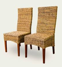 two paris seagrass dining chair