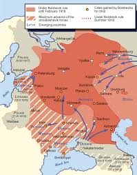 Map Of Russia And Europe by Russian Civil War Wikipedia