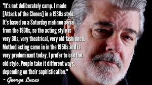Lucas Meme - did george lucas write horrible dialogue for star wars attack of