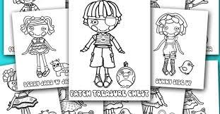 printable lalaloopsy coloring pages dolls gekimoe u2022 36810