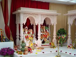 Decoration Of Temple In Home Hindu Temple Of Arizona
