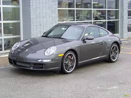 gray porsche 911 2008 slate grey metallic porsche 911 4s coupe 99345