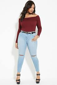 Forever 21 Ripped Jeans 331 Best Plus Size Jeans Images On Pinterest Plus Size Jeans