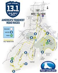 Blue Ridge Mountains Map Foot Levelers Blue Ridge Half Marathon Foot Levelers Blue Ridge