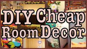 Bedroom Decor Ideas On A Low Budget Diy Cheap Room Decor Ways To Spice Up Your Room Youtube