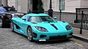 turquoise koenigsegg the al thani car collection 2011 youtube