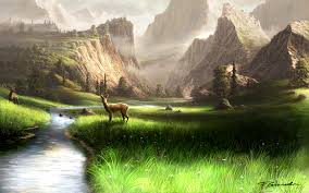 Beautiful Landscape Pictures by Mountain Landscape By Fel X On Deviantart