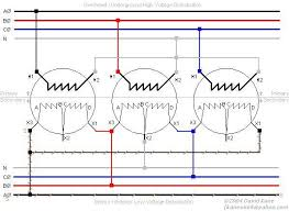 3 phase transformer connections