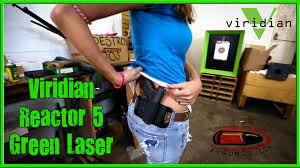 viridian reactor r5 tactical light ecr viridian reactor 5 green laser for glock g43 with tiffany youtube