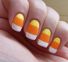 candy corn nail art gallery nail art designs