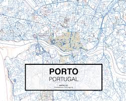 Stamen Maps Oporto Portugal Download Cad Map City In Dwg Ready To Use In
