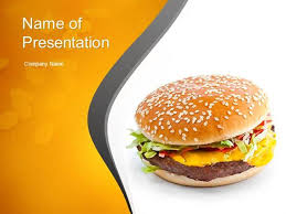 Fast Food Ppt Slides Tasty Burger Powerpoint Template Authorstream Fast Food Ppt