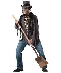 Scary Halloween Costumes For Men Grave Robber Costume Costume Scary Halloween Costume At