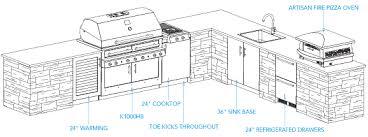 Outdoor Kitchen Design by Outdoor Kitchen Design Plans Homes Abc