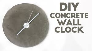 Wall Clock Modern Diy Concrete Wall Clock Modern Builds Ep 45 Youtube