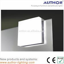 popular indoor square mirror clip led bathroom mirror lamp view