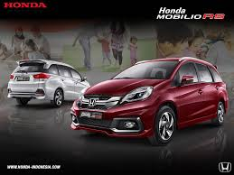 honda indonesia honda mobilio rs front u0026 rear view