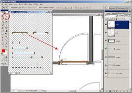 make floor plan tutorial tracing a floor plan in adobe photoshop plan symbols