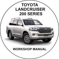 toyota landcruiser 200 series uzj200 vdj200 v8 service repair