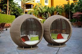 Rattan Wicker Patio Furniture Furniture Outdoor Rattan Wicker Bed Nila Homes