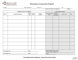 monthly health and safety report template services health and safety association workplace