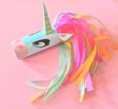 unicorn head toilet tube craft printable toilet tube unicorn