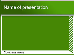 green white powerpoint template big apple templates