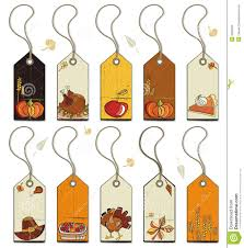 thanksgiving tags stock images image 6695834