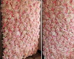 wedding backdrop etsy silk flower backdrop etsy