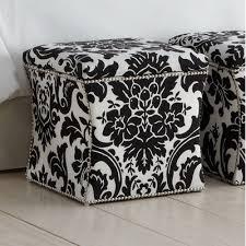 fabric storage cube ottoman skyline furniture fiorenza fabric storage cube ottoman wayfair