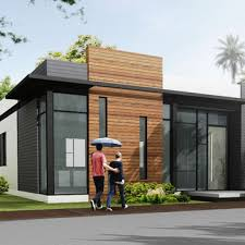 china modular luxury prefabricated steel frame houses villa homes