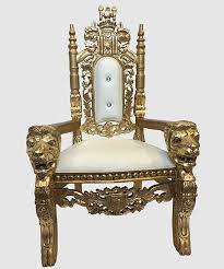 Throne Chair Throne Chair Gold And White Royalty Furniture Store