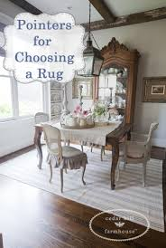 pointers for choosing a rug cedar hill farmhouse