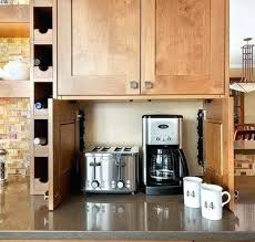 kitchen appliance storage ideas storage for kitchen appliances appliance storage ideas for smaller