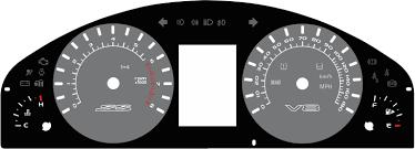 lexus v8 pajero conversion holden commodore ss ute ss u0026 pontiac g8 ve kmh to mph speedo