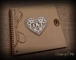 rustic wedding scrapbook wedding albums scrapbooks etsy