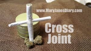 How To Light A Cigarette Without Lighter How To Roll A Cross Joint In 6 Easy Steps Mary Jane U0027s Diary